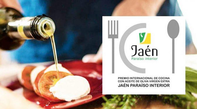 XVII Premio Internacional de Cocina con Aceite de Oliva Virgen Extra 'Jaén, Paraíso Interior'