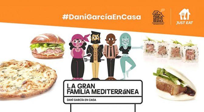 Dani García lanza La Gran Familia Mediterránea de la mano de Just Eat