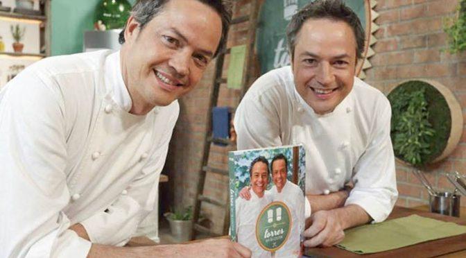 Los hermanos Torres en nuestra cocina
