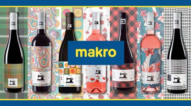 MAKRO lanza un vino solidario de su marca 'La Sastrería' para luchar contra la COVID-19