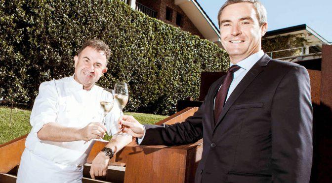 Louis Roederer formaliza su relación con Martin Berasategui