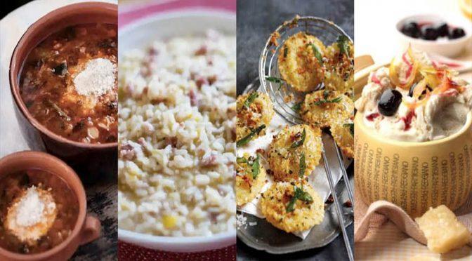Cocina en casa con Parmigiano Reggiano