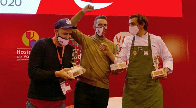 Emilio Martín y Gabriel Pedreira se consagran en XVI Concurso de Tapas Valladolid 2020