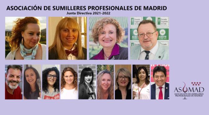 La Asociación de Sumilleres Profesionales de Madrid (ASUMAD) renueva su Junta Directiva