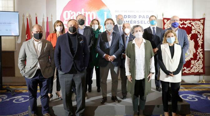 Emilia Pardo Bazán y la Cocina Iberoamericana, protagonistas de Gastrofestival Madrid 2021