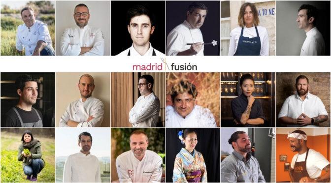 Madrid Fusión 2021 incorpora más de veinte nuevos ponentes