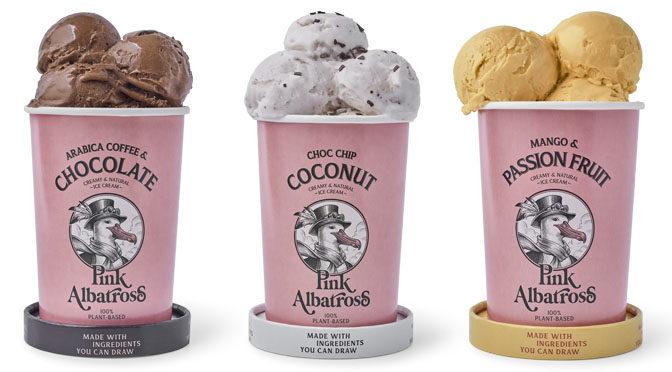 Pink Albatross, los helados que solo llevan ingredientes 100% naturales