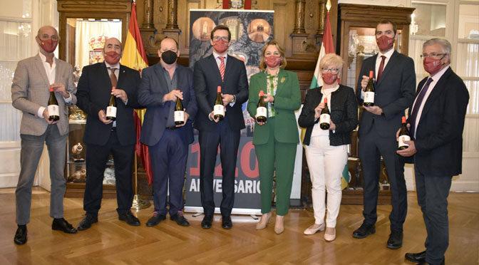 El Centro Riojano de Madrid presentó su vino institucional 120 Aniversario