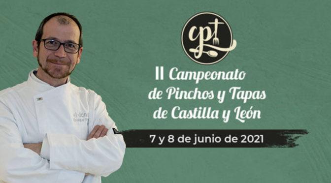 Enrique Pérez (* Michelin) preside el jurado del II Campeonato de Pinchos y Tapas de Castilla-León