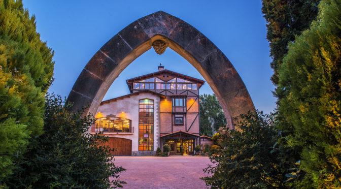 """Villa-Lucía, en Laguardia, galardonado con un """"Solete REPSOL"""""""