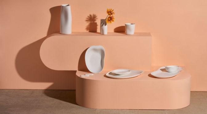 La colección de porcelana más orgánica y sinuosa de COOKPLAY