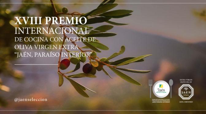 El XVIII Premio Internacional de Cocina con Aceite de Oliva Virgen Extra organizado por la Diputación de Jaén ya tiene sus finalistas