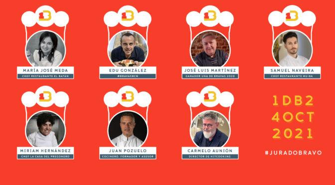 Bi-Presidencia en el jurado de Una de Bravas, Concurso Internacional de Elaboración de Patatas Bravas 2021