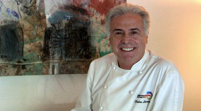 El chef Pedro Larumbe es homenajeado por toda una trayectoria
